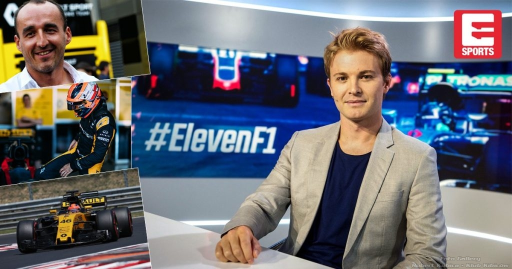 Nico Rosberg - Robert Kubica - Eleven Sports