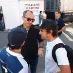 Robert Kubica Fernando Alonso Felipe Massa - Monza padok F1 2017 - 05