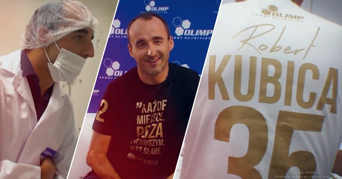 Robert Kubica z wizytą w Polsce