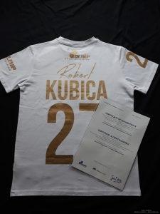 Koszulka Nagroda w konkursie RObert Kubica - Klub Kibiców