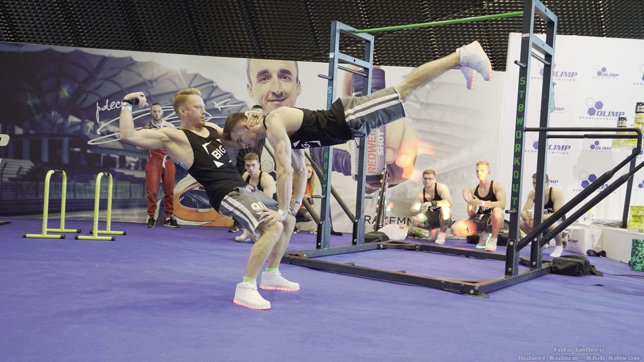 Robert Kubica reklama REDWEILER® SHOT Olimp Sport Nutrition