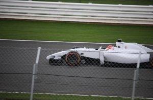 Robert Kubica testy Siverstone 11.10 -11