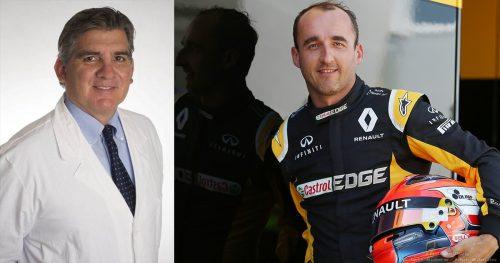 Rossello Czy Kubica wróci, nie dotyczy w tej chwili medycyny. F1 to polityka i pieniądze