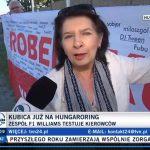 Ewa - TVN24 - Hungaroring