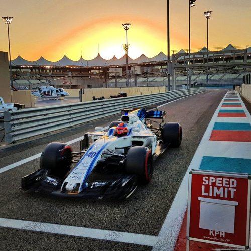 Kubica Williams f1 Pirelli