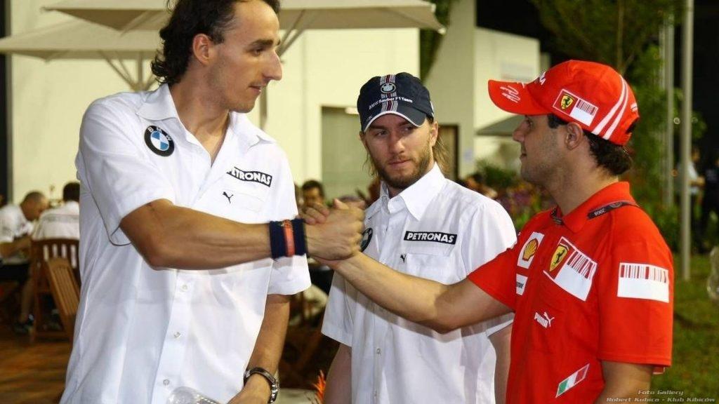 Robert Kubica & Fellipe Massa