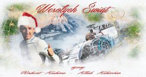 Wesołych Świąt - Merry Christmas : Robert Kubica - Klub Kibiców