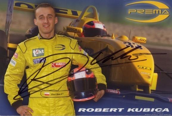 2003 F3 Euroseries - Robert Kubica - Prema Powerteam