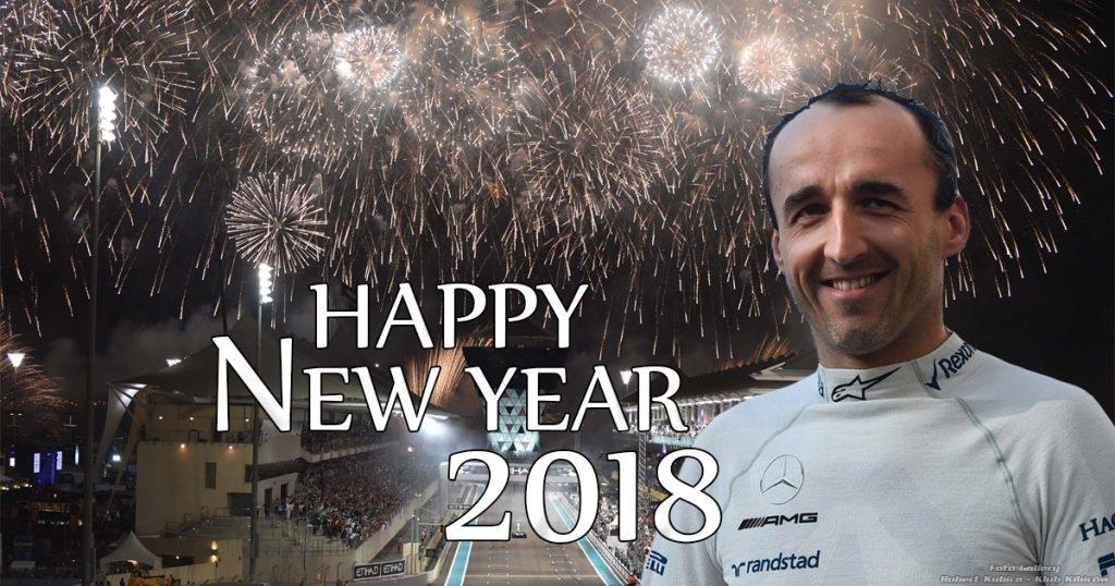 Robert Kubica - Happy New Year 2018 F1
