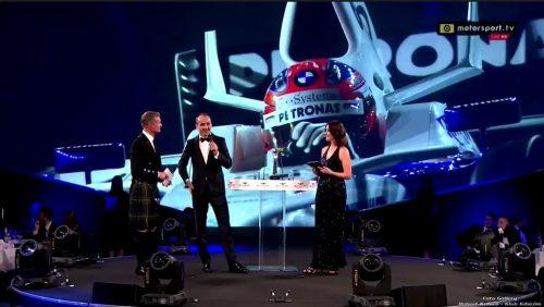 Robert Kubica na Autosport Awards 2017