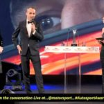 Robert Kubica na Autosport Awards 2017