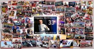 Robert Kubica obchodzi dziś 33 urodziny