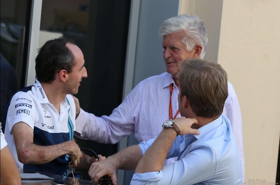Roger Benoit - Robert Kubica i Nico Rosberg - Abu Dhabi 2017