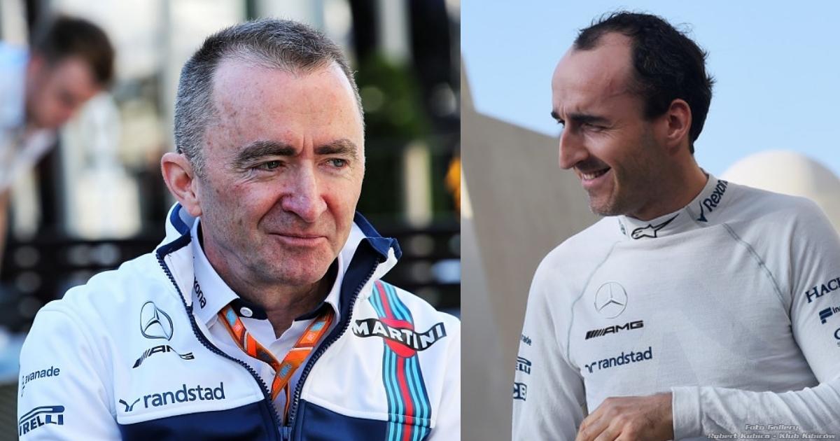 Paddy Lowe i Kubica