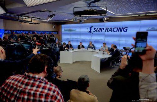 Sirotkin nie Kubica Konferencja SMP Williams w Moskwie