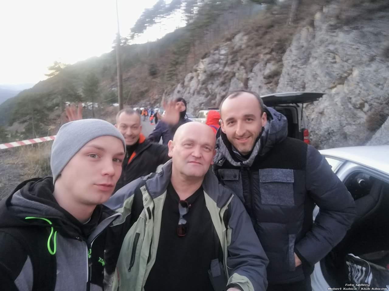 Kubica Rallye Monte-Carlo 2018