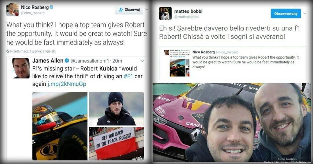 Matteo Bobbi-Nico Rosberg - Twitter