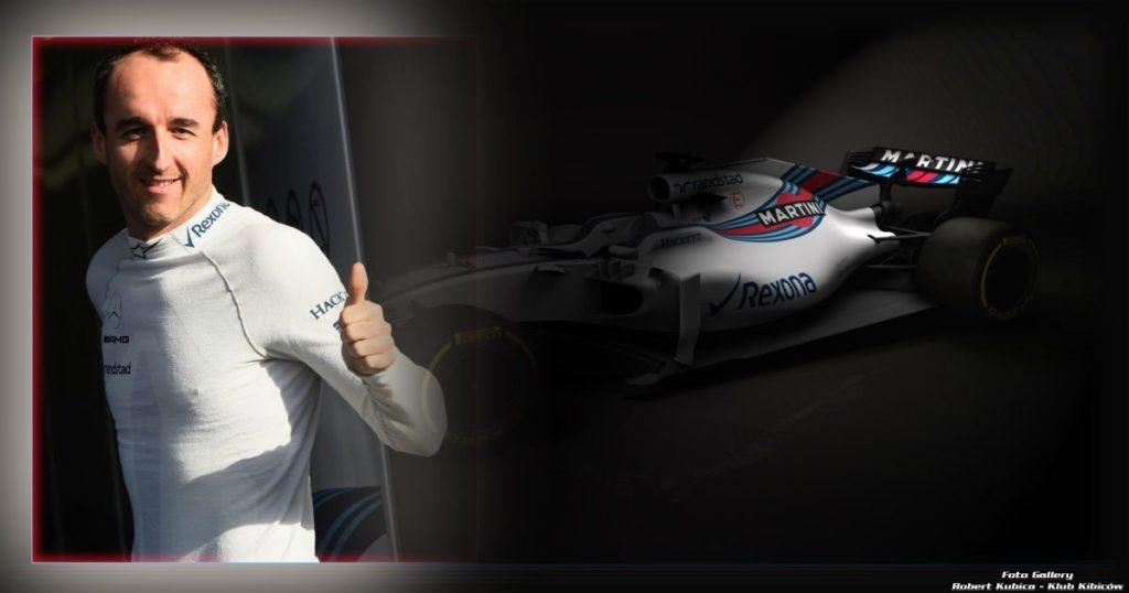Prezentacja bolidu F1 zespołu Roberta Kubicy - Williams FW41