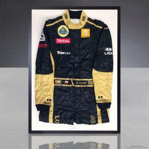 Robert Kubica - kombinezon z testów przedsezonowych w Walencji 2011
