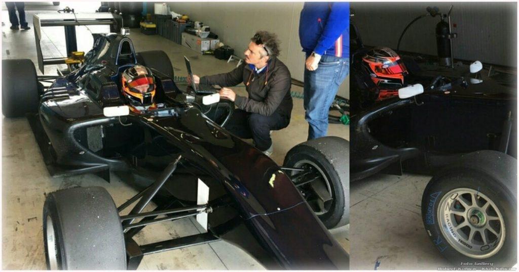 Robert Kubica testuje samochód GP3!