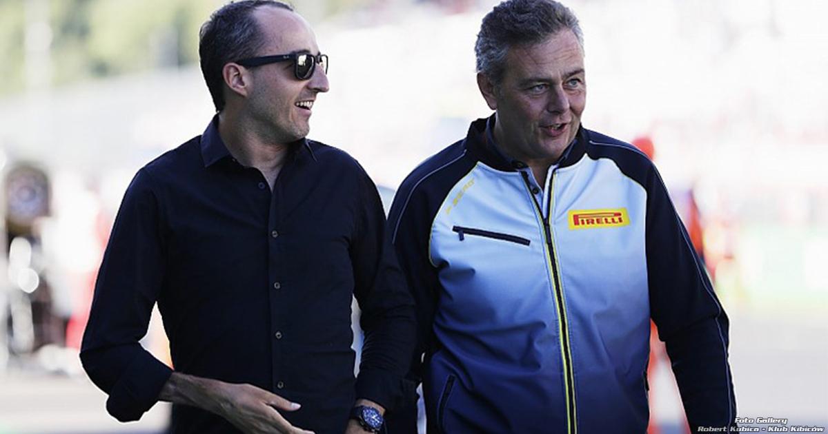 Szef Pirelli Kubica nadal szybkim kierowcą, potrzebuje tylko czasu by pokazać swój potencjał.