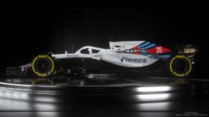 FW41 Williams Marini Racing 2018 Side 35
