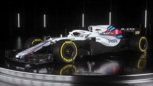 FW41 Williams Marini Racing 2018 Side34 18