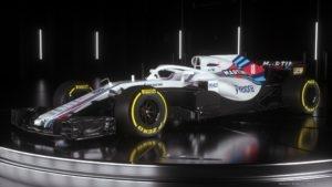 FW41 Williams Martini Racing 2018 - 01