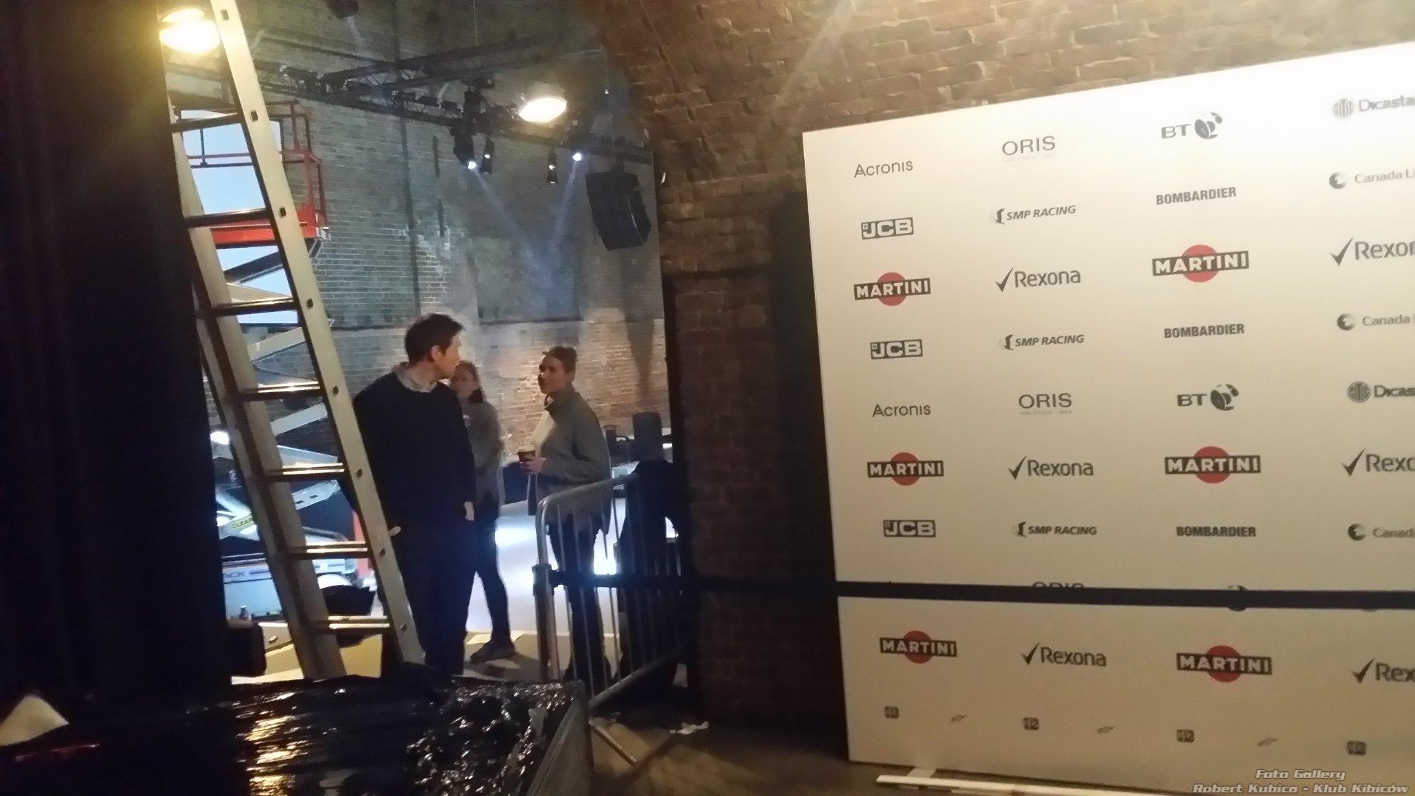 Williams Martini Racing 2018 F1 prezentacja