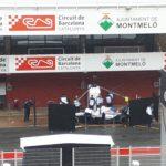 Robert Kubica testy Barcelona środa -1