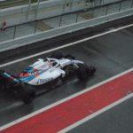 Robert Kubica testy Barcelona środa -8