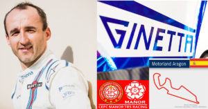 Robert Kubica na testach LMP1 dla zespołu Manor WEC na torze Aragon