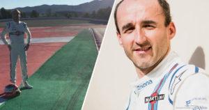 Robert Kubica - dzień filmowy z Williams Martini Racing