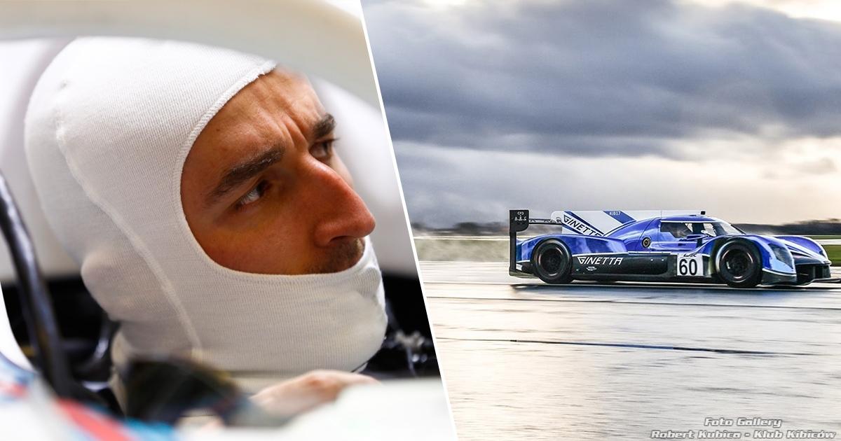 Robert Kubica testuje LMP1 z zespołem Manor Racing