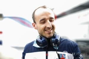 Robert Kubica testy Barcelona 1.03-12