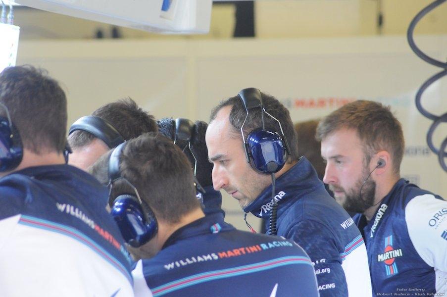 Robert Kubica testy Barcelona 1.03-2