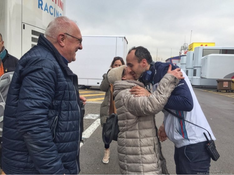 Robert Kubica testy Barcelona 1.03-4