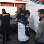 Robert Kubica testy Barcelona 7.3 -22