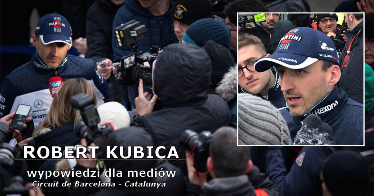 Robert Kubica podczas testów 1 tydzień - wypowiedzi i interpretacje