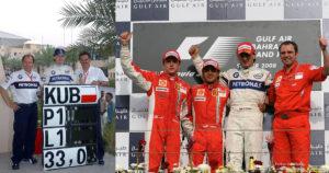 10 lat temu Robert Kubica zdobył swoje pierwsze pole position w Bahrajnie