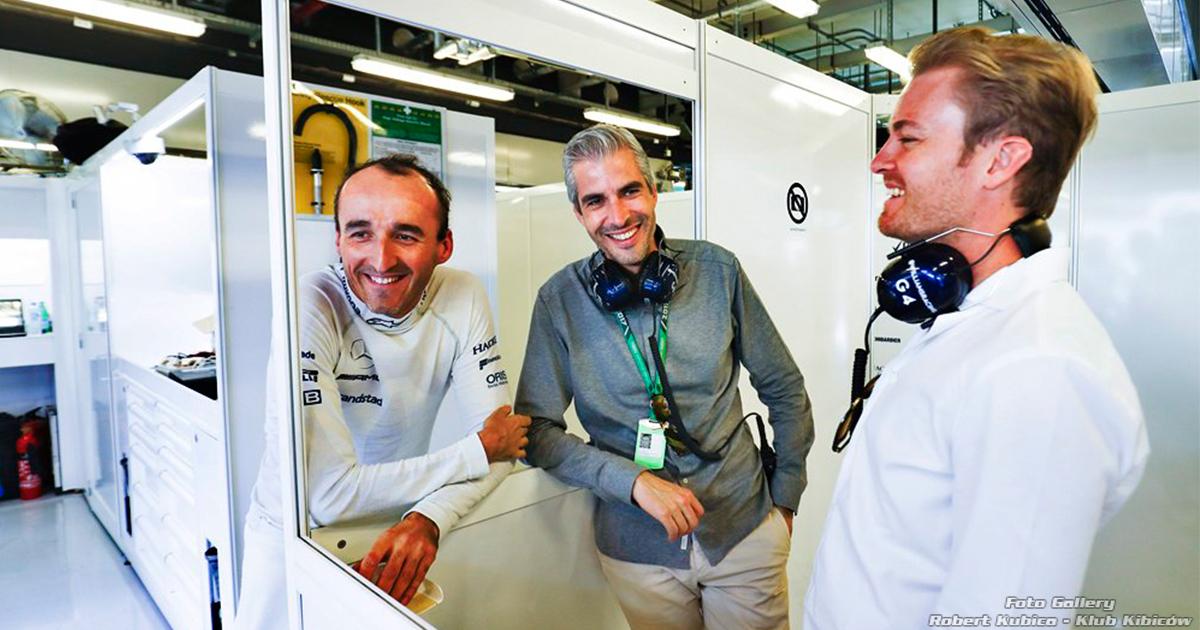 Robert Kubica Nie współpracujemy z Nico tak ściśle, jak w ubiegłym roku