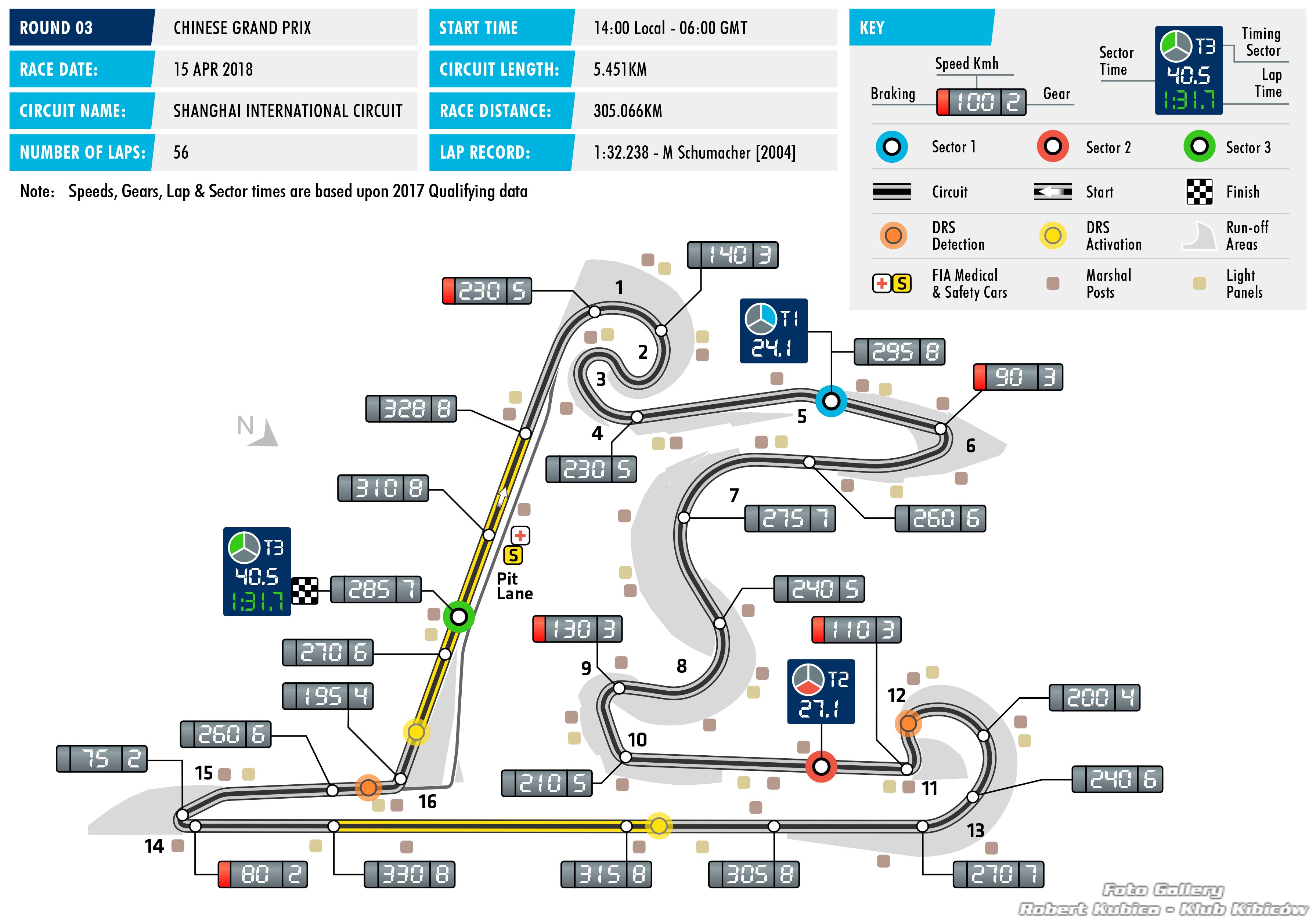 mapa Grand Prix chin 2018