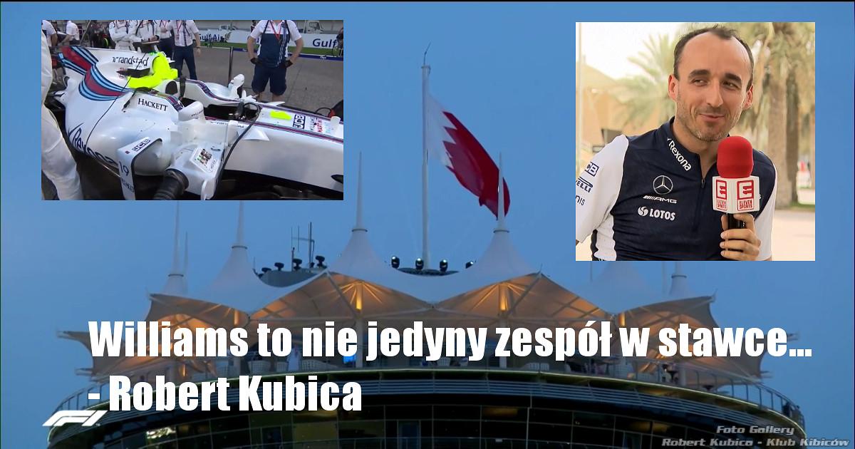 Robert Kubica- czy zobaczymy go w Piątkowych treningach przed GP Chin?