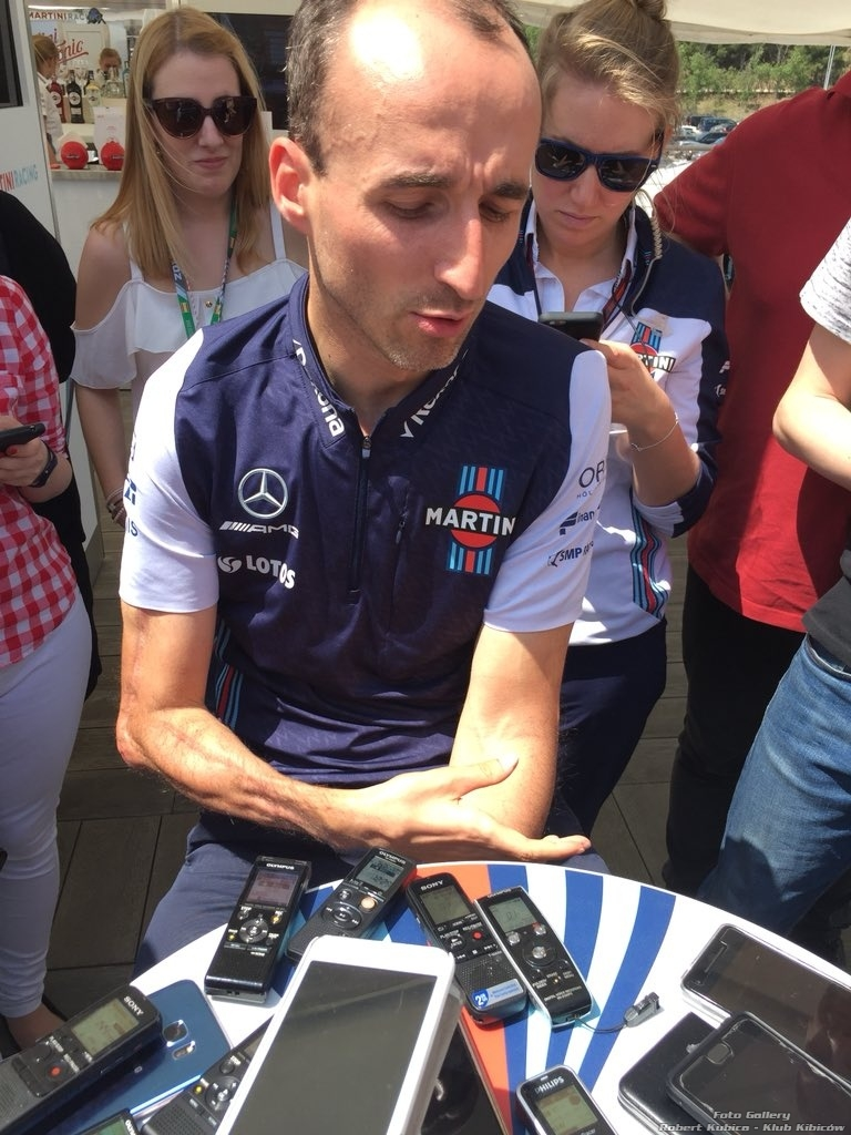 Robert Kubica w FP1 - Formula 1: Grand Prix Hiszpanii 2018