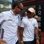 Hamilton i Kubica - Grand Prix Monaco 2018