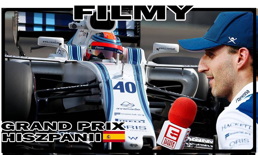 Robert Kubica - Wideo Gallery - Runda 5 - F1 Grand Prix Hiszpanii 2018