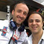 Robert Kubica i Felipe Massa - Grand Prix Monaco 2018