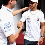 Robert Kubica i Lewis Hamilton - Grand Prix Monaco 2018