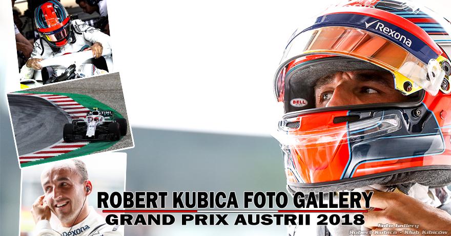 Robert Kubica - Foto Gallery F1 Grand Prix Austrii 2018