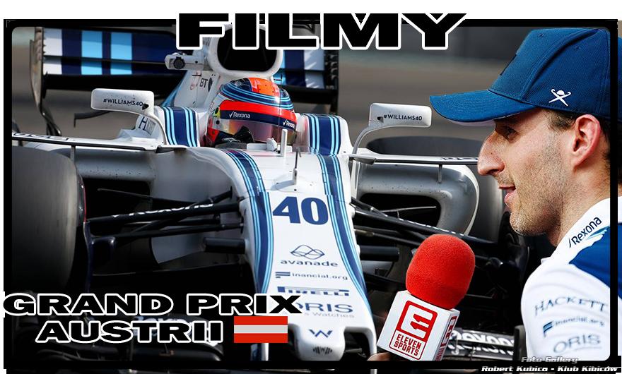 Robert Kubica - Wideo Gallery F1 Grand Prix Austrii 2018